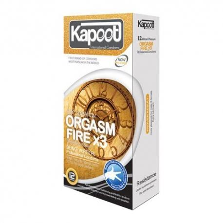 کاندوم محرک آتشین ارگاسم تری کاپوت