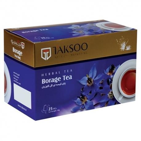 چای کیسه ای گل گاو زبان تکسو