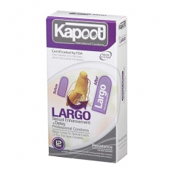 کاندوم حجم دهنده لارگو کاپوت 12 عددی