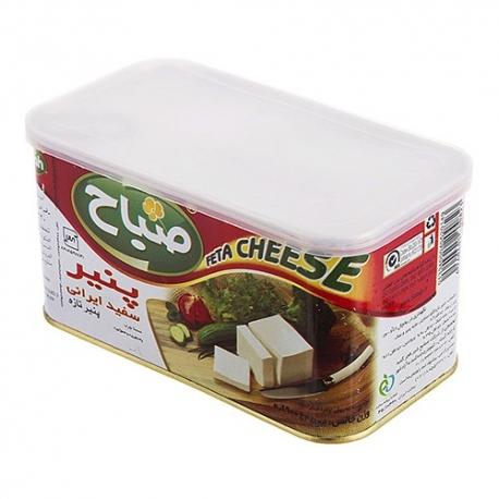 پنیر سفید ایرانی صباح 900 گرمی فلزی