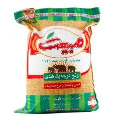 برنج هندی دانه بلند طبیعت 10 کیلوگرم