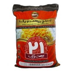 برنج دانه بلند 21