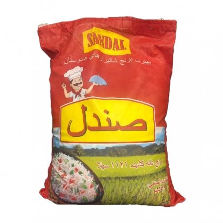 برنج هندی دانه بلند صندل 10 کیلوگرم