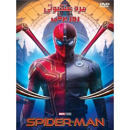 انیمیشن مرد عنکبوتی در روز برفی