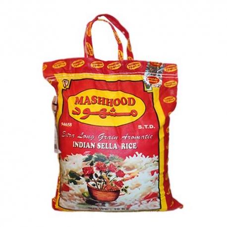 برنج هندی دانه بلند مشهود 10 کیلوگرم   جی شاپ